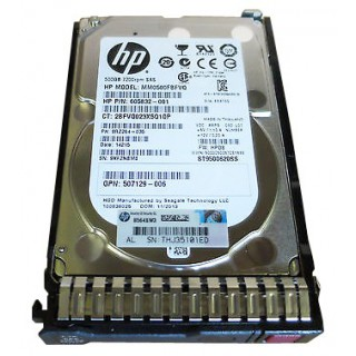 HP 500GB 7.2K 6G SAS SFF HDD DL380 (605832-001)