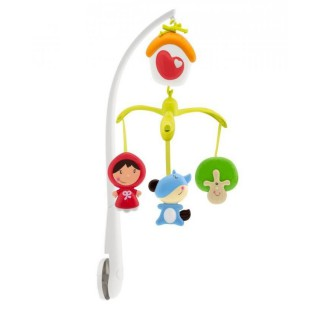 CHICCO Mobil Musical Chaperon - Rouge - 0m+