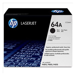 HP CC364A 64A noir 10.00pages LJ P4014/P4015/P4515