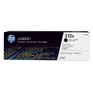 HP 312X 4,400 pages Black High Original Color LaserJet Pro MFP M476dn M476dw M476nw