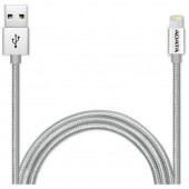 100 MAC APLLE LIGHTENING SYNC SILVER ALU