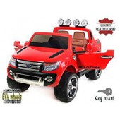 Ford Ranger Wildtrak de luxe rouge