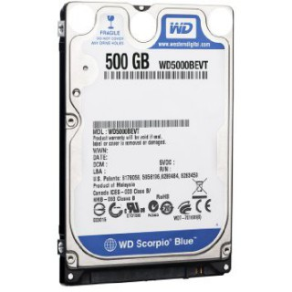 DISQUE DUR Western Digital 500GB Sata