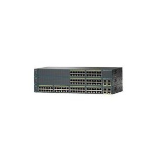SWITCH CISCO CATALYST 2960 24 10/100 PM + 2 T/SFP LAN LITE IMAGE
