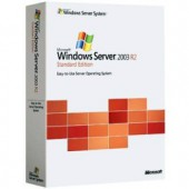 Microsoft Windows Server 2003 R2 WITH SP2 32-Bit/X64 French Disk Kit