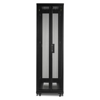 NetShelter SV 42U 600 Wide x 1060mm Deep Enclosure with Sides, Blac