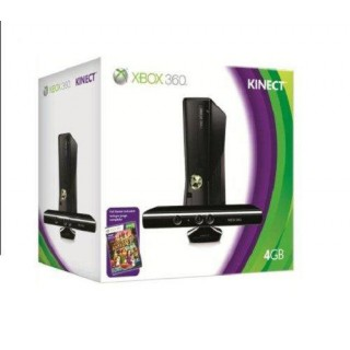 Pack Xbox 360 4Go + Kinect