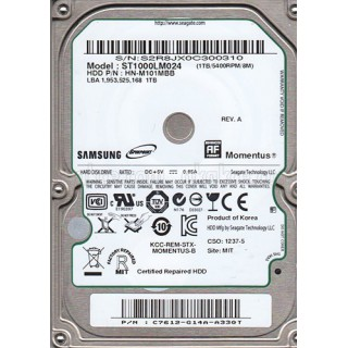 "DD Interne Portable 1To 2.5 "" Samsung 6.3cm (2.5"") 1TB SATA 7200 RPM"